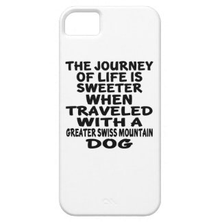Traveled With A Greater Swiss Mountain Dog Life Pa iPhone SE/5/5s Case