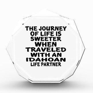 Traveled With A Idahoan Life Partner Award
