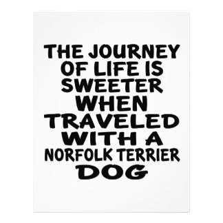 Traveled With A Norfolk Terrier Life Partner Letterhead