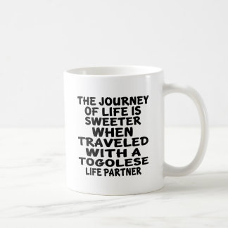 Traveled With A Togolese Life Partner Coffee Mug