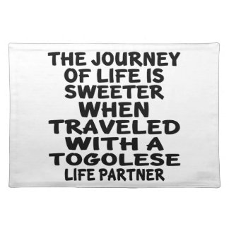 Traveled With A Togolese Life Partner Placemat