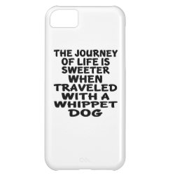 Case-Mate Barely There iPhone 5C Case with Whippet Phone Cases design