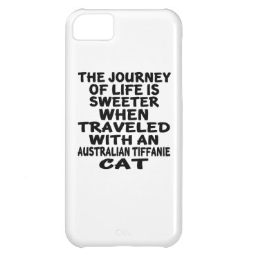 McTiffany Tiffany Aqua Traveled With Australian Tiffanie Cat iPhone 5C Cover