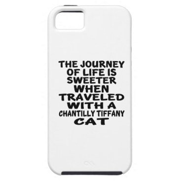 McTiffany Tiffany Aqua Traveled With Chantilly Tiffany Cat iPhone SE/5/5s Case