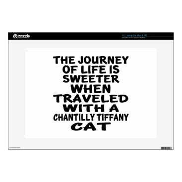 McTiffany Tiffany Aqua Traveled With Chantilly Tiffany Cat Skins For Laptops