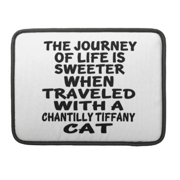 McTiffany Tiffany Aqua Traveled With Chantilly Tiffany Cat Sleeve For MacBooks