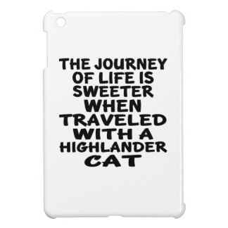 Traveled With Highlander Cat Cover For The iPad Mini