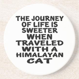 Traveled With Himalayan Cat Coaster