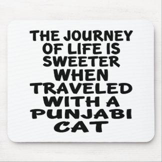 Traveled With Punjabi Cat Mouse Pad