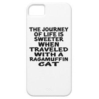 Traveled With Ragamuffin Cat iPhone SE/5/5s Case