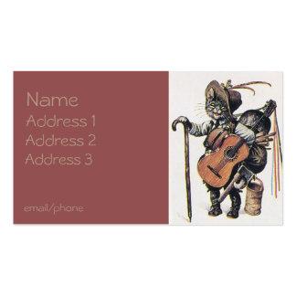Traveler Cat Business Card