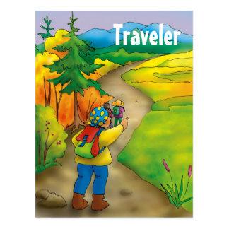 Traveler - Postcard template