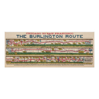 Old Chicago Map Posters Zazzle - Map of us with west undeleoped