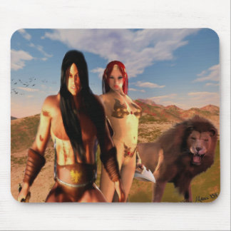 Travelers of Destiny Mouse Pad