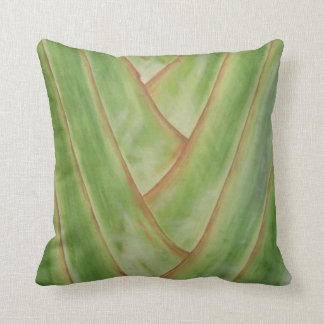 Travelers Palm Throw Pillow