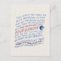 Traveler's Quote Postcard