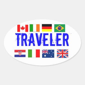 Traveler's Sticker