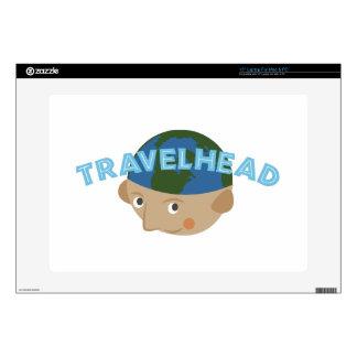 """Travelhead 15"""" Laptop Skin"""