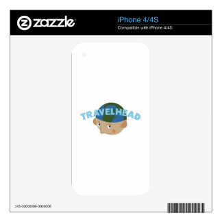 Travelhead Skins For The iPhone 4S