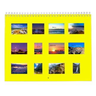 Travelicious 2016 Best of California Calendar