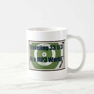 Traveling 33 1/3 In A MP3 World Coffee Mug