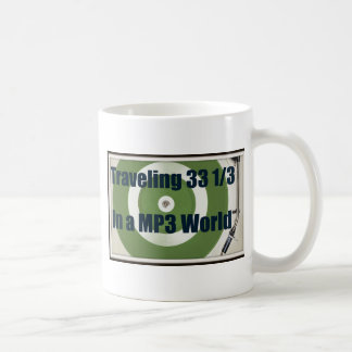Traveling 33 1/3 In A MP3 World Coffee Mugs