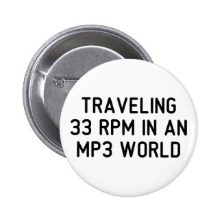 Traveling 33 RPM Pins
