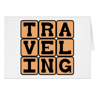 Traveling, A Hobby or a Basketball Violation Greeting Card