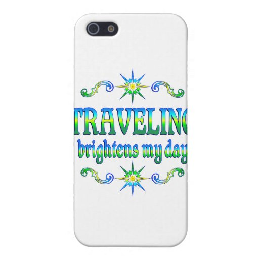 Traveling Brightens Cover For iPhone 5