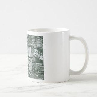 Traveling Cabinet of Curiosities Coffee Mug