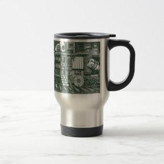 Traveling Cabinet of Curiosities Travel Mug