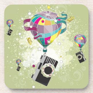 Traveling Camera Beverage Coasters