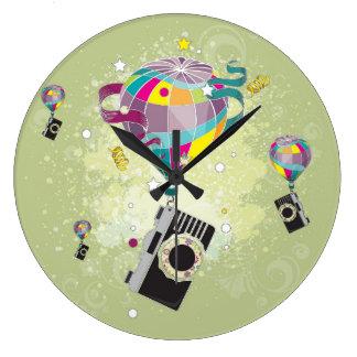 Traveling Camera Clocks