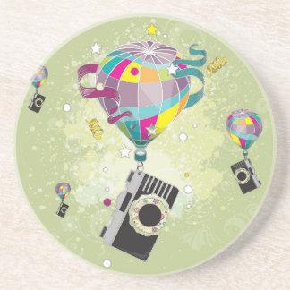 Traveling Camera Drink Coaster