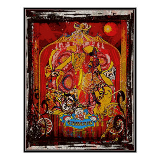 Traveling Circus Poster
