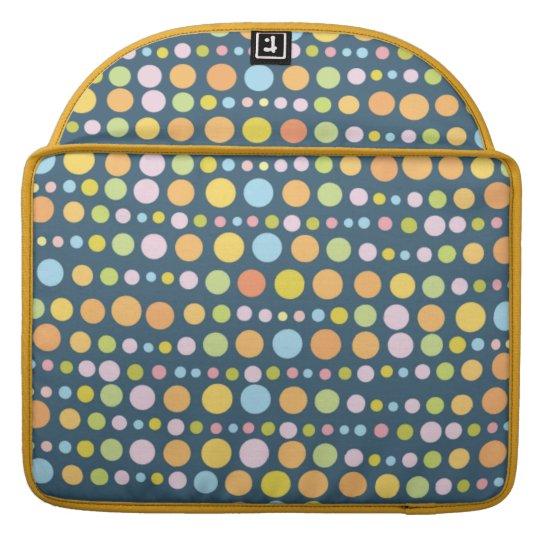 Traveling Dots 5 MacBook Pro Sleeve