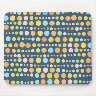 Traveling Dots 5 Mouse Pad