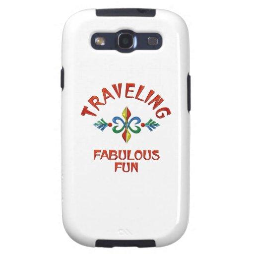Traveling Fabulous Fun Galaxy SIII Cases