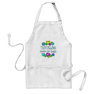 Traveling Happiness Adult Apron