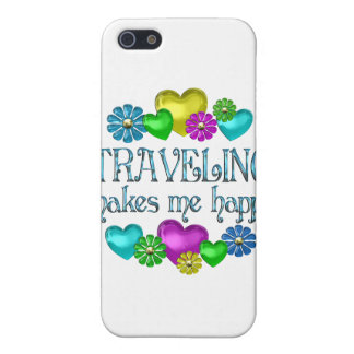 Traveling Happiness Case For iPhone 5/5S