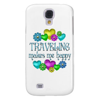Traveling Happiness Samsung Galaxy S4 Case