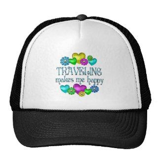 Traveling Happiness Trucker Hat