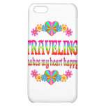 Traveling Heart Happy iPhone 5C Cover