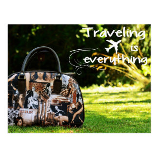 Traveling Is Everything Postcard