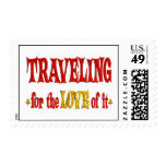 Traveling Love Postage
