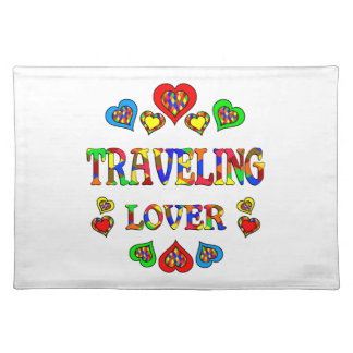 Traveling Lover Cloth Placemat