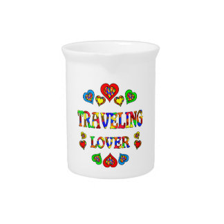 Traveling Lover Drink Pitcher