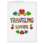 Traveling Lover Greeting Card