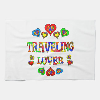 Traveling Lover Hand Towel