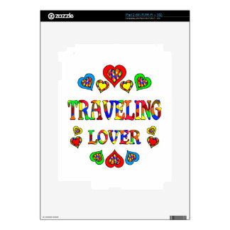 Traveling Lover iPad 2 Decals
